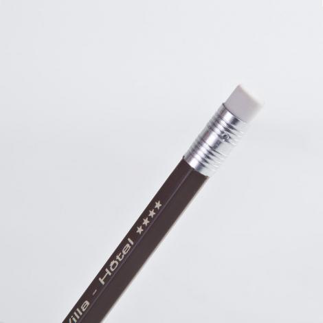 Crayon publicitaire - Eco vernis pantone hexagonal 17.6 cm