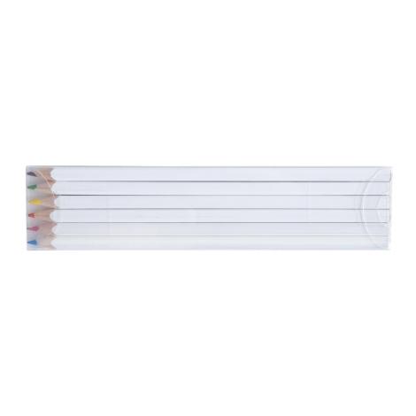 Set publicitaire 4, 6 ou 12 crayons couleurs 17.6 cm - Eco
