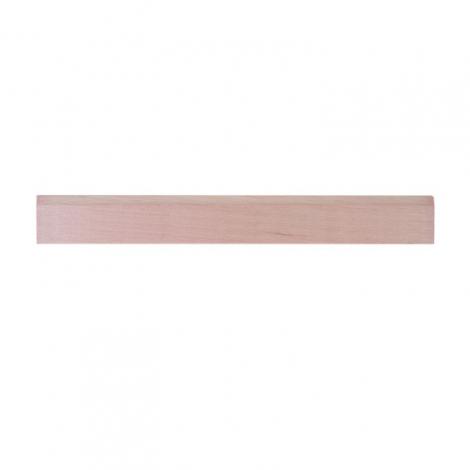 Règle en bois publicitaire - Eco sans vernis 17 ou 30 cm