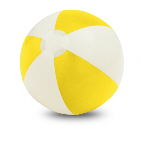 Ballon gonflable personnalisable bicolore