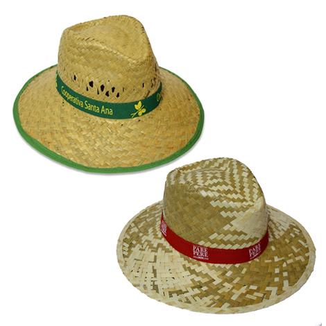 Chapeau de paille promotionnel - INDIANA