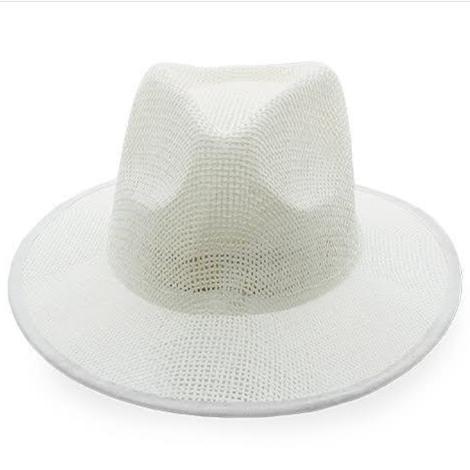 Chapeau publicitaire blanc - INDIANA PANAMA