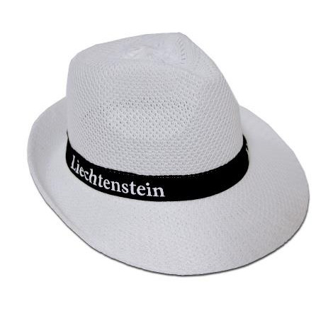 Chapeau personnalisé paille colorée - TIROLES COLORES