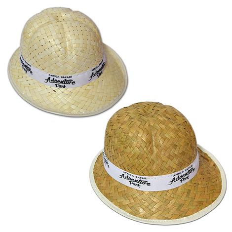 Chapeau de paille personnalisé pour enfant - SAFARI