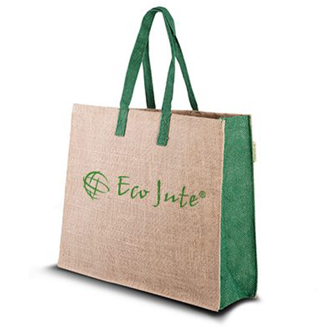 Sac en jute personnalisable - Eco Green