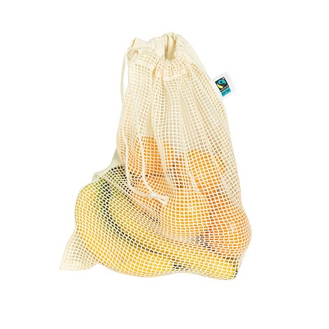 Sac filet publicitaire coton bio équitable - Fresh Mesh