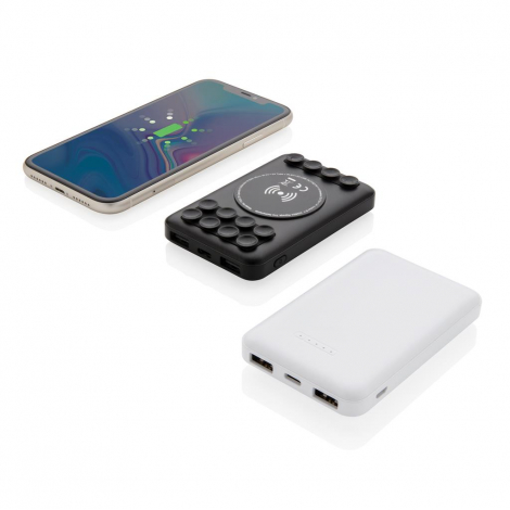Powerbank de poche publicitaire 5000mAh avec induction