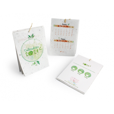 Calendrier personnalisé à semer