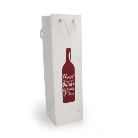 Sac bouteille à graines personnalisable