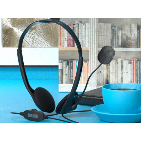 Casque filaire personnalisable avec microphone - Chatty