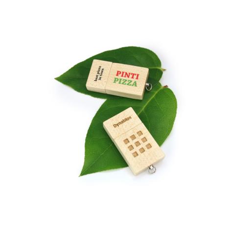 Clé USB en bois personnalisable - ECO WOOD