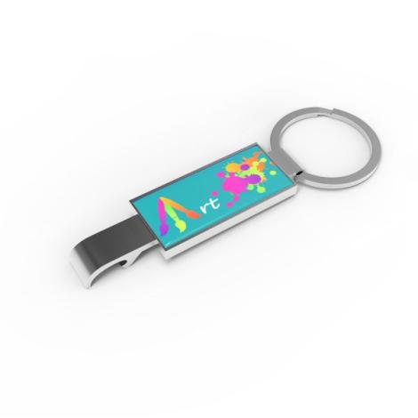 Porte clés publicitaire - OPEN-IT