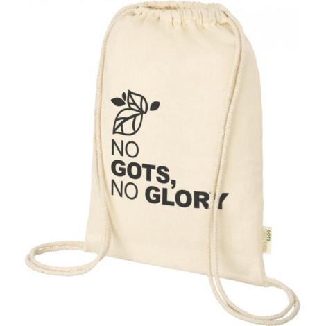 Gym bag GOTS publicitaire Orissa