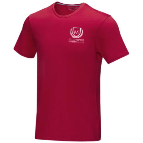 T-shirt bio GOTS publicitaire homme Azurite