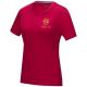 T-shirt bio GOTS publicitaire femme Azurite
