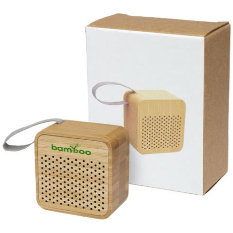 Haut-parleur personnalisé en bambou Arcana