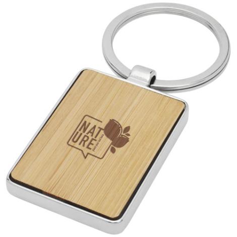 Porte-clés personnalisé bambou Neta