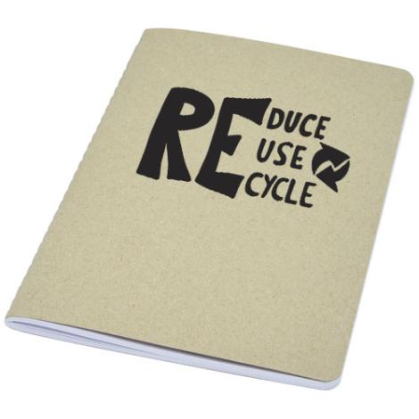 Carnet personnalisé en carton recyclé Gianna