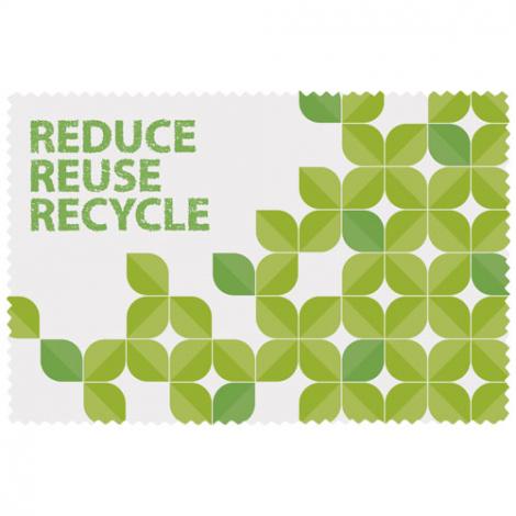 Microfibre en PET recyclé publicitaire Caro