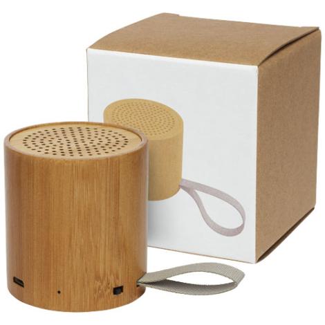 Enceinte promotionnelle en bambou Lako