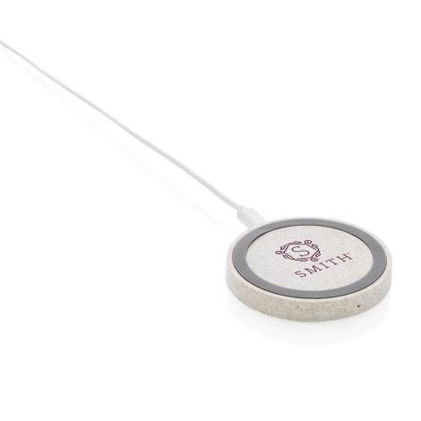 Chargeur publicitaire 5W en fibre de paille
