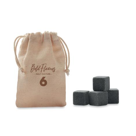 Cube de glace en pierre pulicitaire ROCKS