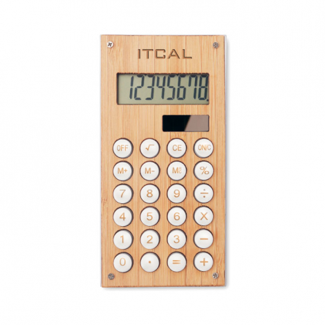 Calculatrice solaire personnalisée CALCUBAM