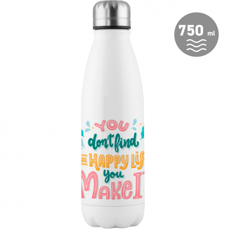 Bouteille personnalisable 750 ml - Soda