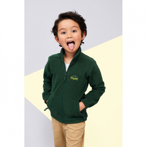 Polaire enfant publicitaire NORTH KIDS