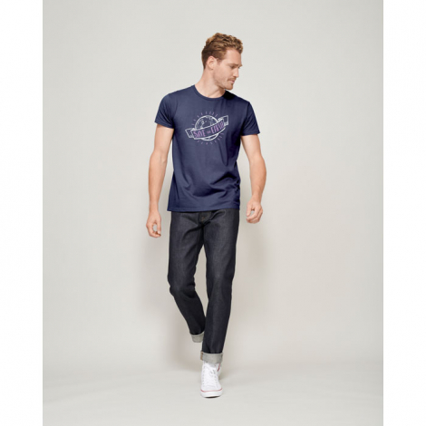 Tee shirt coton bio 175 g publicitaire homme PIONEER