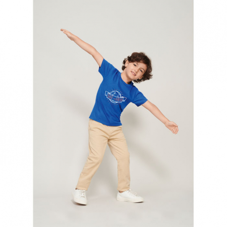 Tee shirt enfant personnalisé coton bio 175 g PIONEER