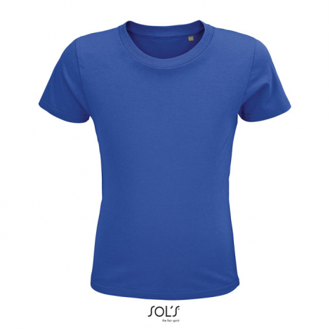 Tshirt personnalisé coton bio enfant 150 g CRUSADER