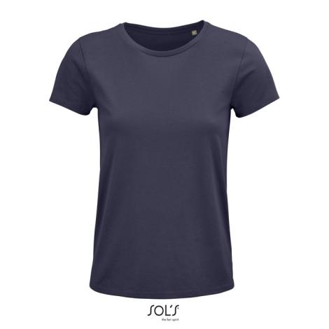 Tshirt femme coton bio publicitaire 150 g CRUSADER