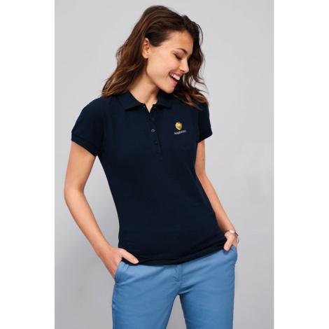 Polo publicitaire en coton 170 g femme PASSION