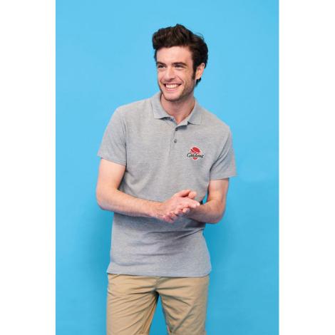 Polo en coton publicitaire 210 g pour homme SPRING