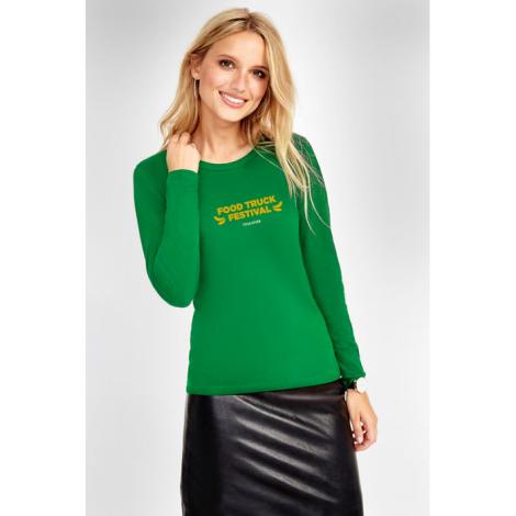 Tshirt manches longues publicitaire femme 150 g MAJESTIC