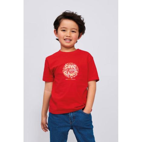 Tshirt enfant publicitaire coton 190 g IMPERIAL