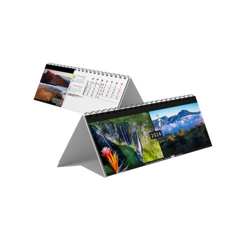 Chevalet bureau publicitaire 13 feuillets - Caraïbes bretonnes