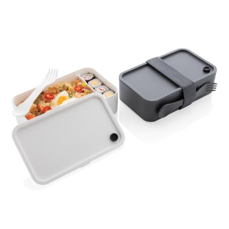 Boîte repas publicitaire avec cuichette 1,2 L