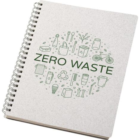 Carnet recyclé personnalisable A5 Bianco