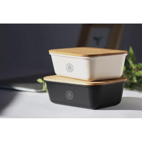 Luchbox personnalisée avec couvercle bambou THRUSDAY