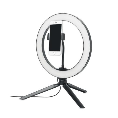 Trépied photo personnalisé avec anneau LED HELO