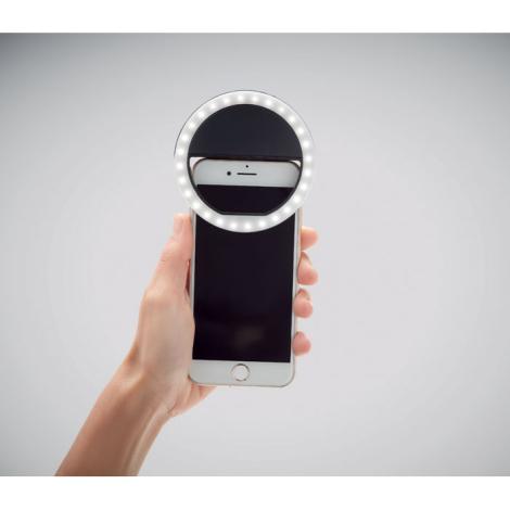 Lampe portable pour selfie personnalisable HELIE