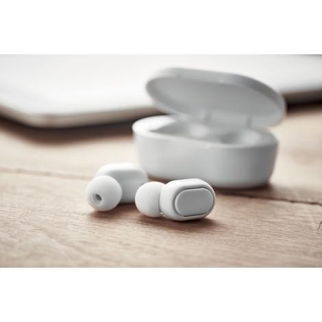 Écouteurs publicitaires en ABS recyclé RWING