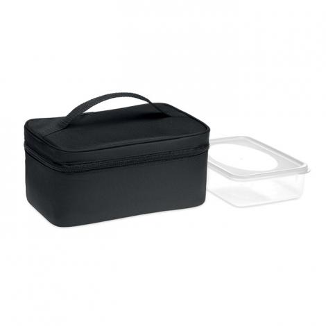 Sac isotherme rPET avec lunch box publicitaire GROWLER