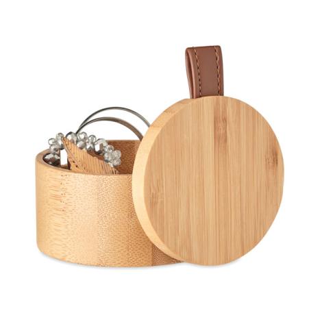Boîte à bijoux personnalisée avec miroir TREASURE