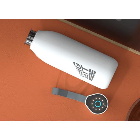 Bouteille personnalisée avec stérilisateur UV 750 ml Fresh