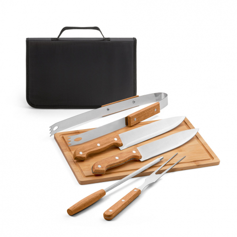 Kit d'ustensiles barbecue personnalisé FLARE