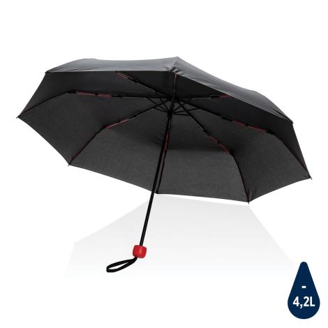 """Mini parapluie publicitaire en rPET 20.5"""" Impact"""