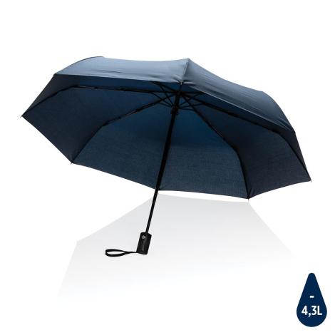 """Parapluie 21"""" personnalisé en rPET Impact"""
